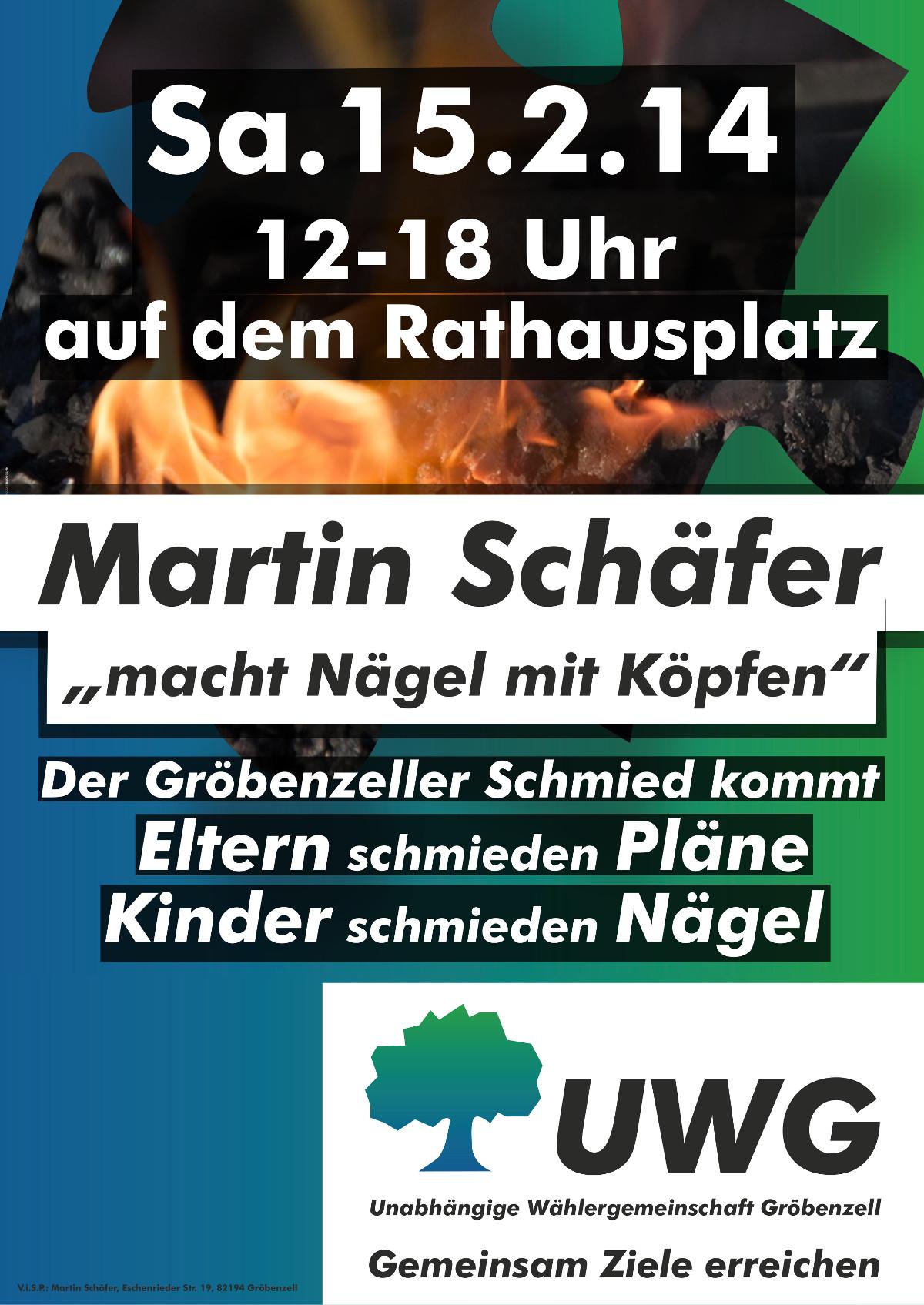 """Martin Schäfer """"macht Nägel mit Köpfen"""""""