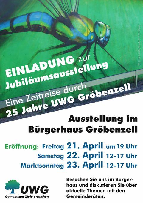 25 JAHRE UWG (Unabhängige Wählergemeinschaft Gröbenzell)