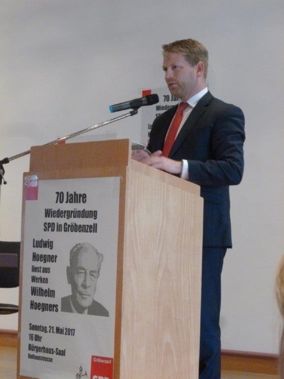 70 Jahre Wiedergründung der SPD Gröbenzell – die UWG gratuliert