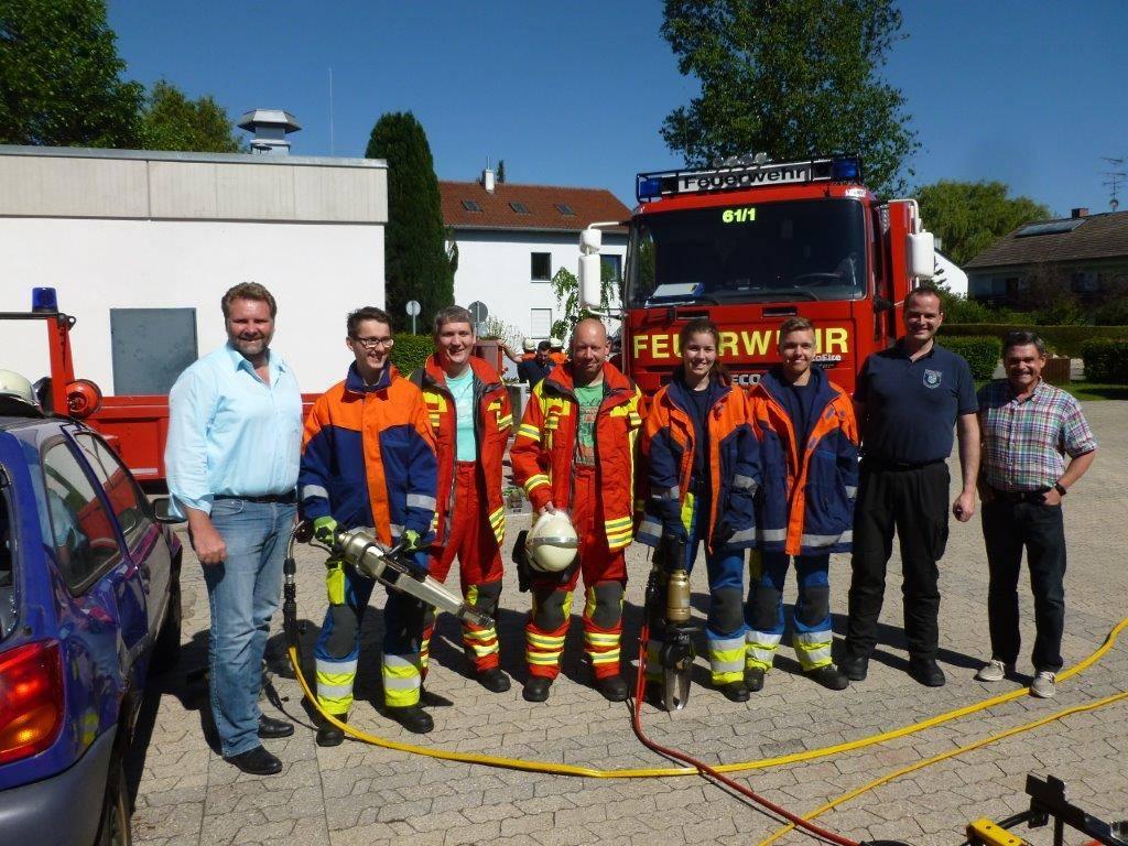 Feuerwehrprüfung in Gröbenzell