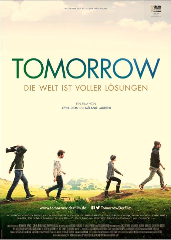 Interkulturelles Kino – Gröbenzell und Bund Naturschutz zeigen: TOMORROW
