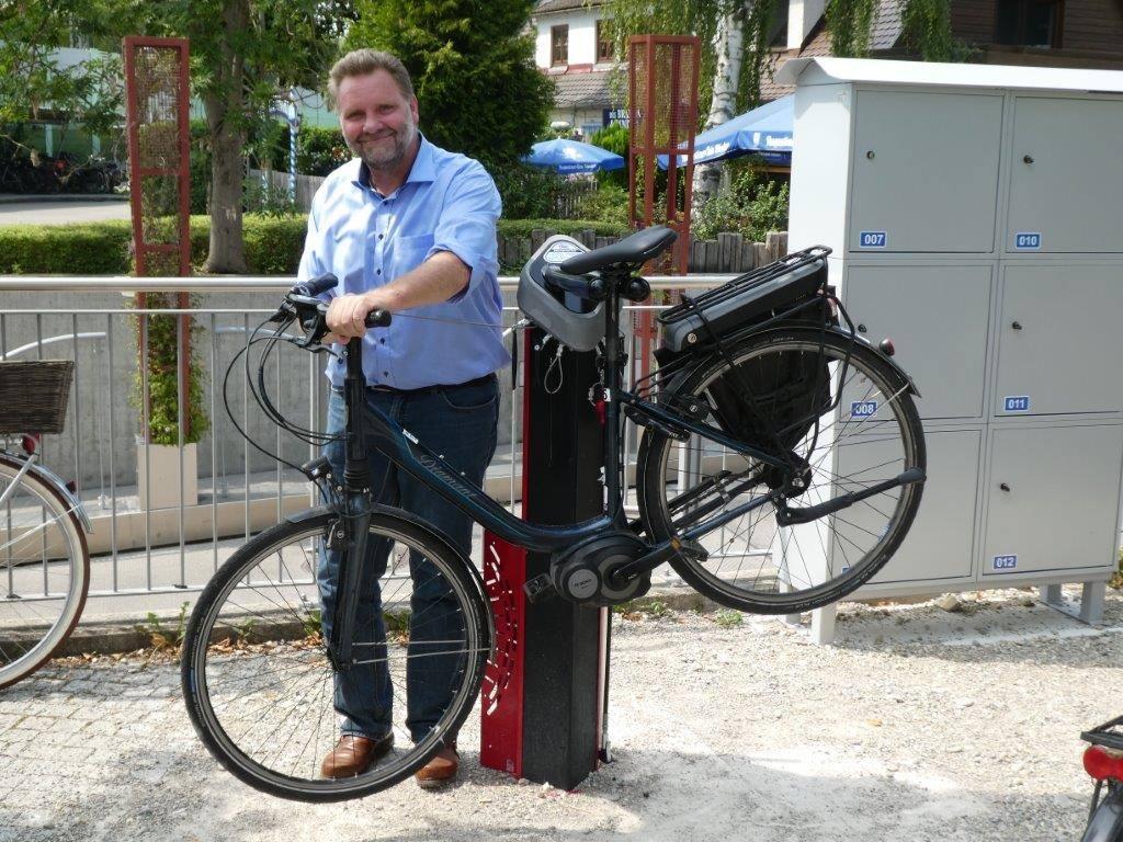 Die Fahrradinfrastruktur wird ausgebaut