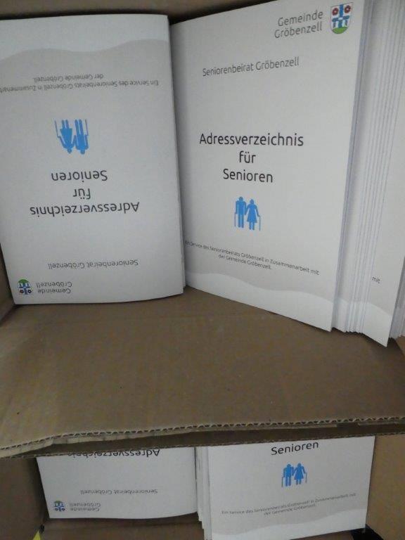 Adressverzeichnis für Senioren
