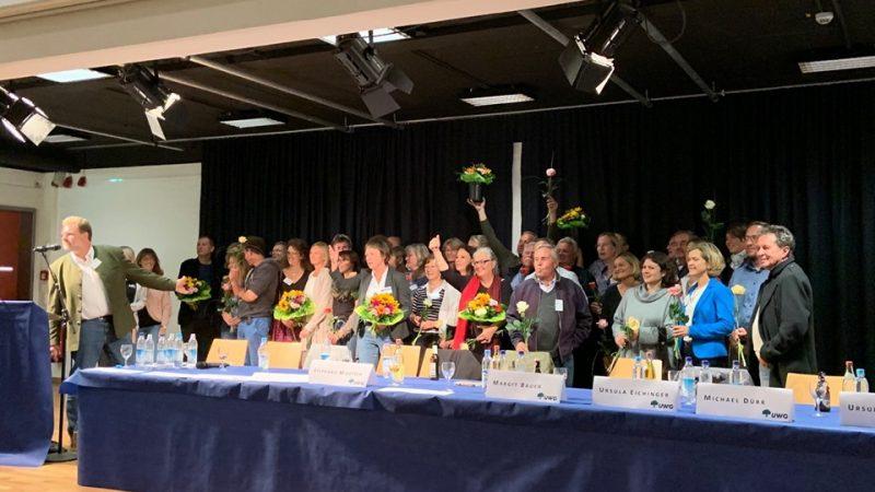 Aufstellungsversammlung der UWG