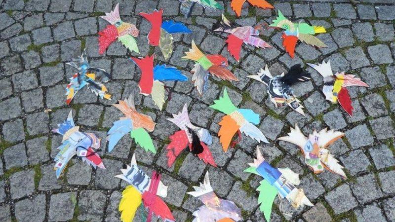Gröbenzell sendet ein Friedenszeichen in die Welt!