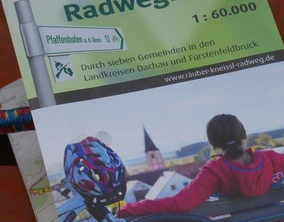 Die neue Rad- Karte für den Räuber Kneißl Weg