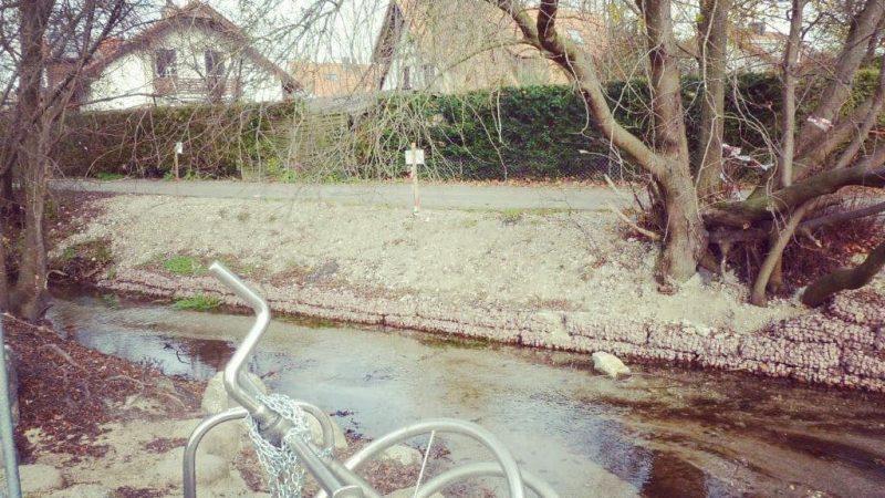 Warum hat der Ascherbach so wenig Wasser?